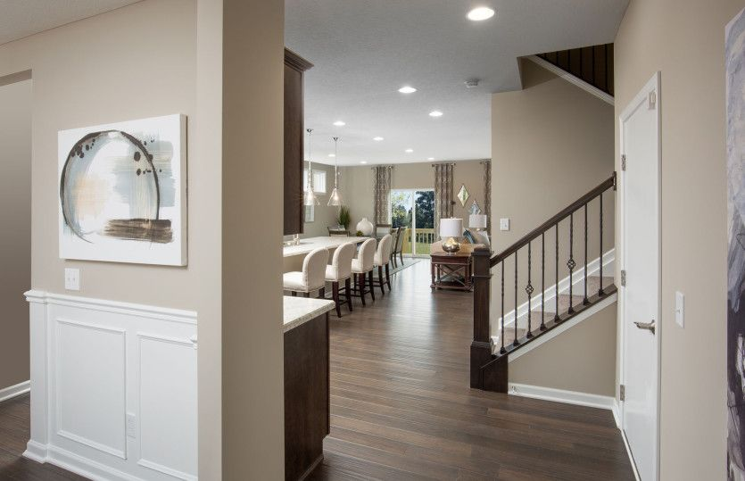 Living Area featured in the Mitchell By Pulte Homes in Columbus, OH
