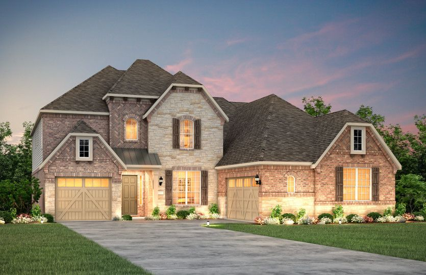 Exterior featured in the Empire By Pulte Homes in Austin, TX