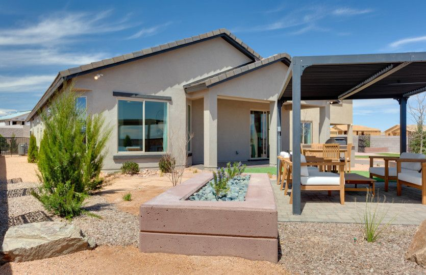 Exterior featured in the Hewitt By Pulte Homes in Albuquerque, NM