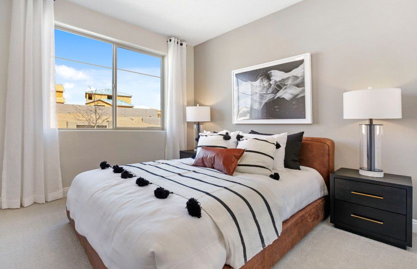 Bedroom featured in the Park Place By Pulte Homes in Albuquerque, NM