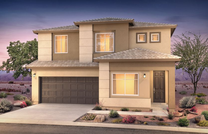 Exterior featured in the Park Place By Pulte Homes in Albuquerque, NM