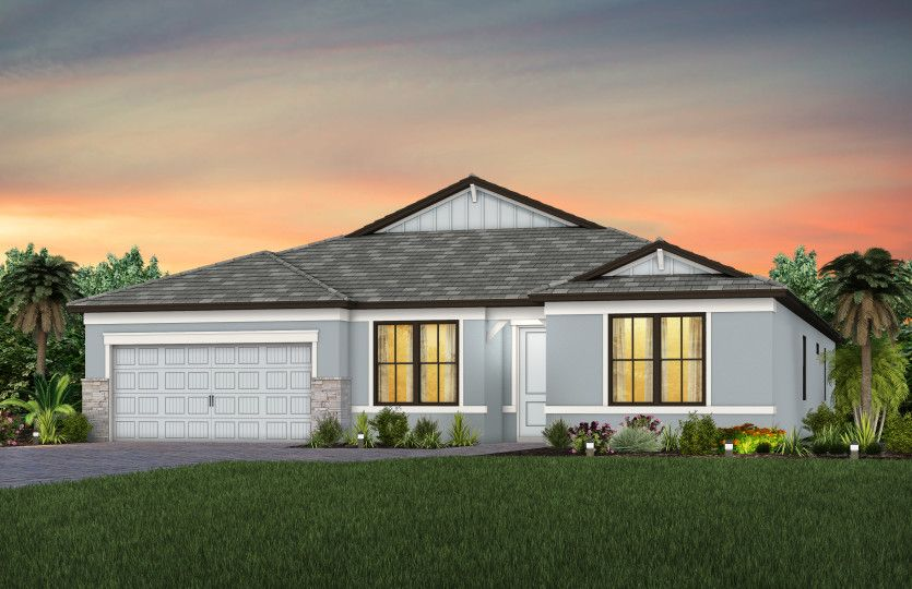 Exterior featured in the Easley By Pulte Homes in Fort Myers, FL