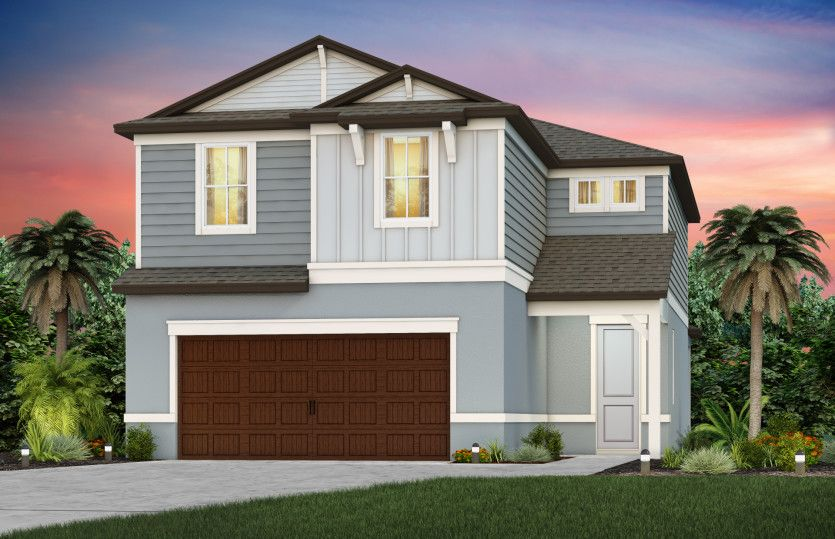Exterior featured in the Trailside By Pulte Homes in Tampa-St. Petersburg, FL