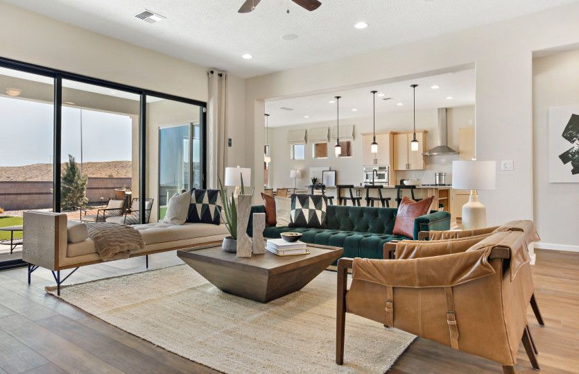 Living Area featured in the Patagonia By Pulte Homes in Albuquerque, NM