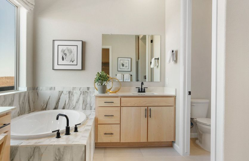 Bathroom featured in the Patagonia By Pulte Homes in Albuquerque, NM