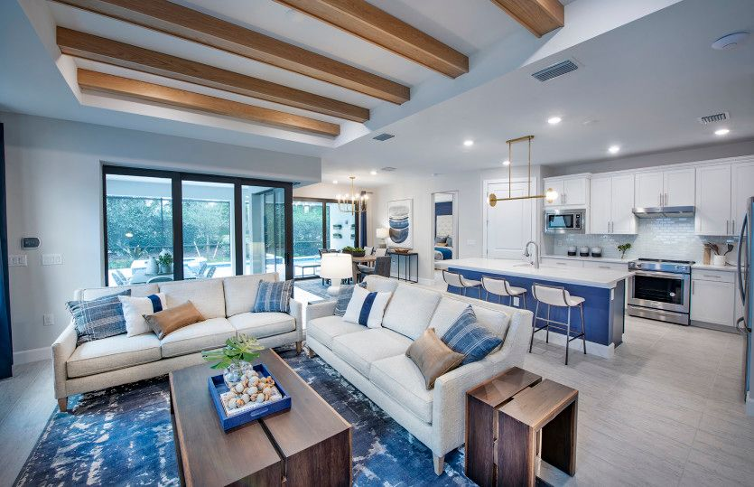 Living Area featured in the Mystique By Pulte Homes in Naples, FL