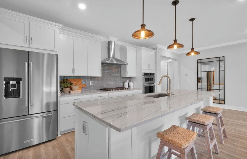 Kitchen featured in the Ashby By Pulte Homes in Naples, FL