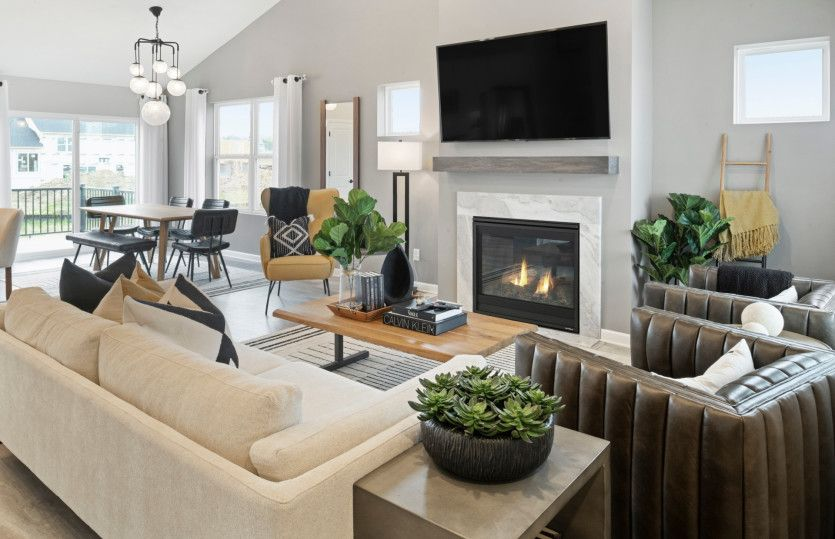 Living Area featured in the Northfield By Pulte Homes in Minneapolis-St. Paul, MN