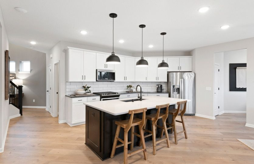 Kitchen featured in the Park Place By Pulte Homes in Minneapolis-St. Paul, MN