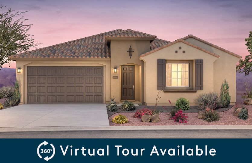 Exterior featured in the Stella By Pulte Homes in Albuquerque, NM