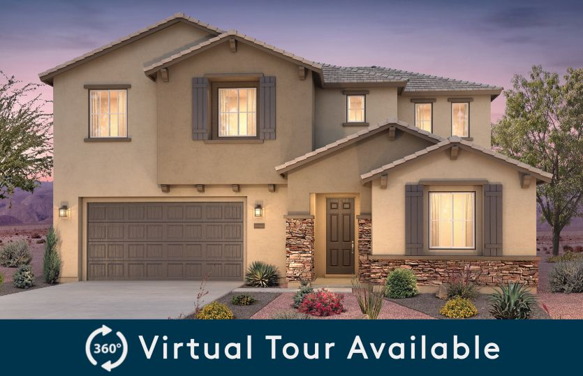Exterior featured in the Preston By Pulte Homes in Albuquerque, NM
