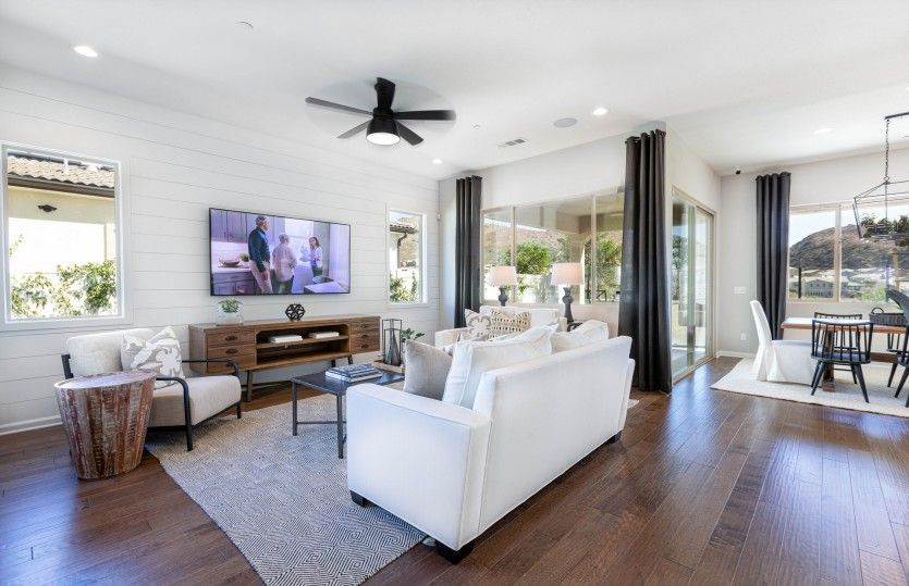 Living Area featured in the Brownstone By Pulte Homes in Riverside-San Bernardino, CA
