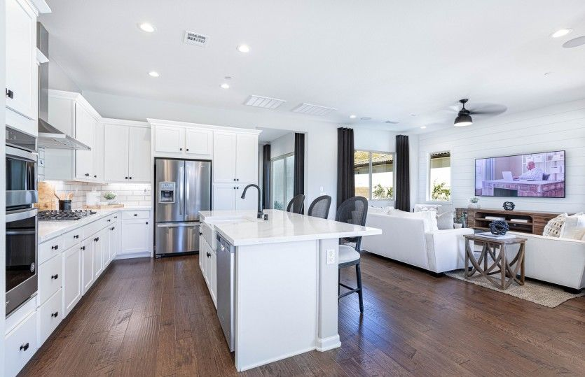 Kitchen featured in the Brownstone By Pulte Homes in Riverside-San Bernardino, CA