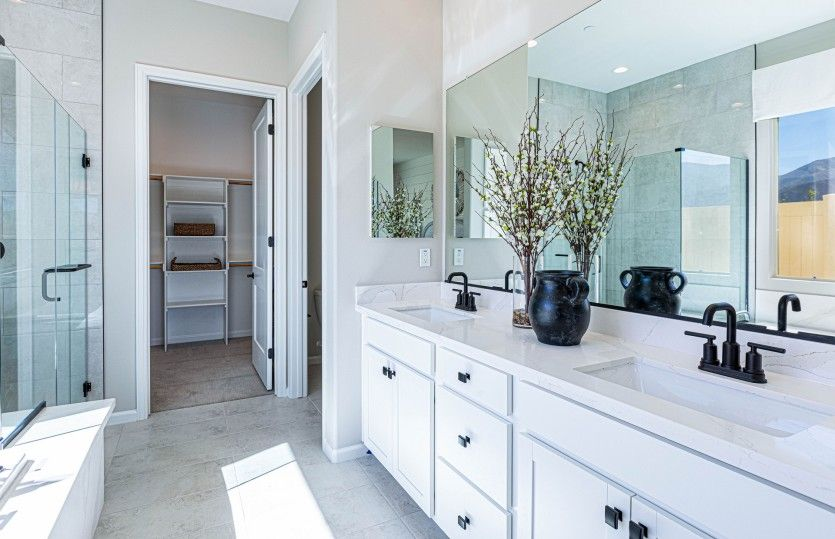 Bathroom featured in the Brownstone By Pulte Homes in Riverside-San Bernardino, CA