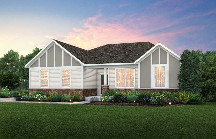 Exterior featured in the Amberwood By Pulte Homes in Louisville, KY