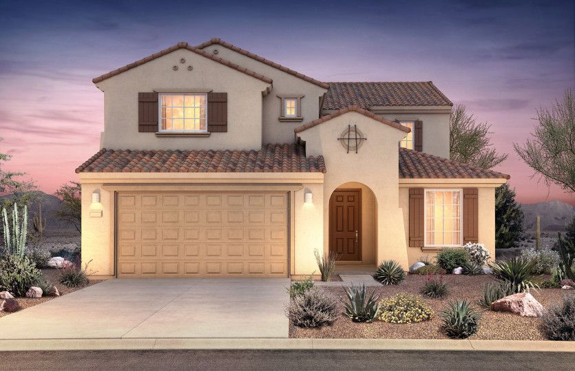 Exterior featured in the Prato By Pulte Homes in Tucson, AZ