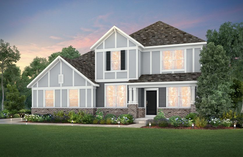 Exterior featured in the Riverton By Pulte Homes in Louisville, KY