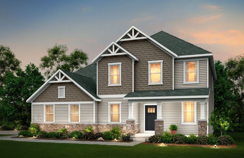 Exterior featured in the Westchester By Pulte Homes in Louisville, KY