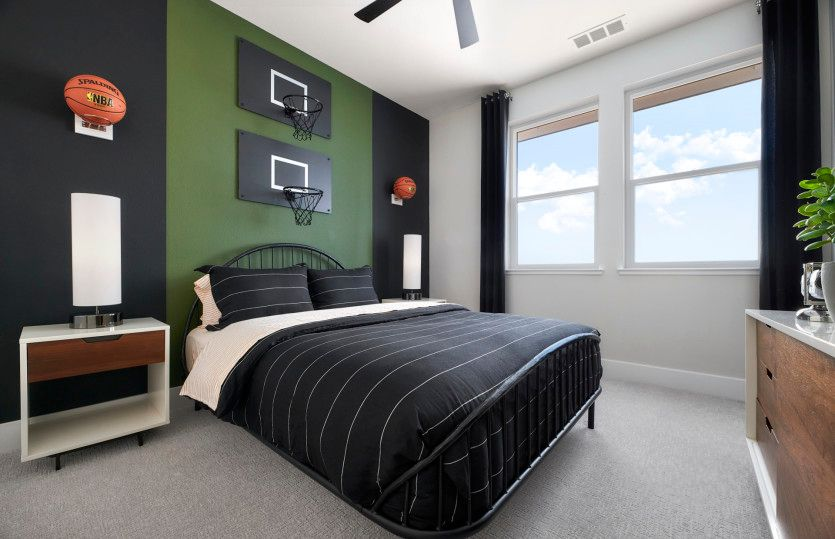 Bedroom featured in the Plan 2 By Pulte Homes in San Francisco, CA