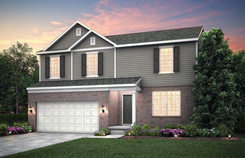 Exterior featured in the Hampton By Pulte Homes in Detroit, MI