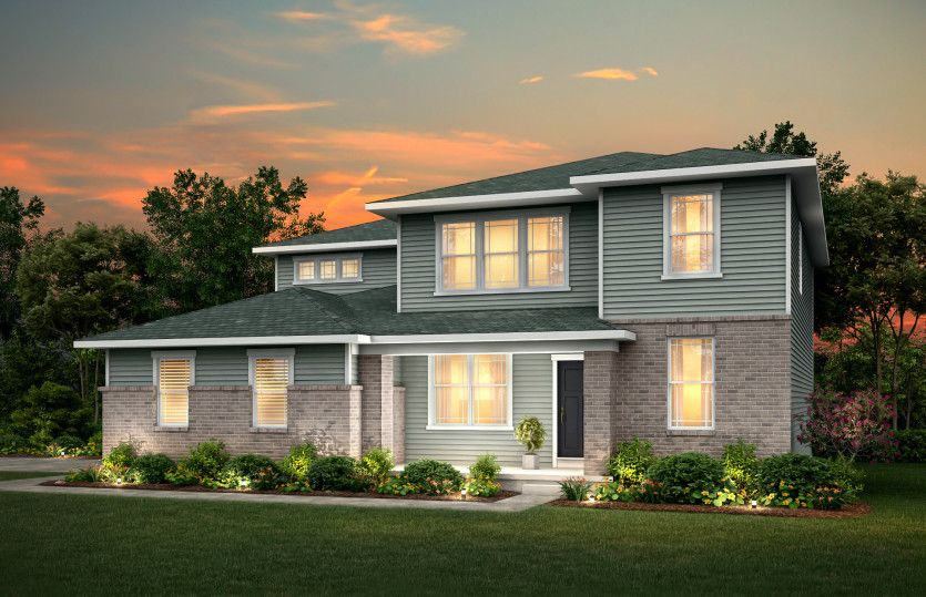 Exterior featured in the Hilltop By Pulte Homes in Louisville, KY