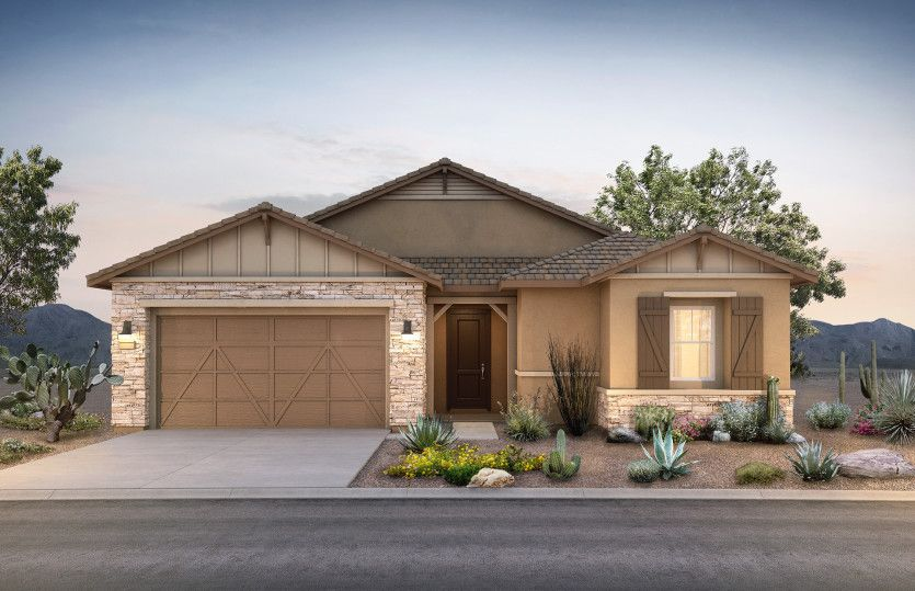 Exterior featured in the Parklane By Pulte Homes in Phoenix-Mesa, AZ