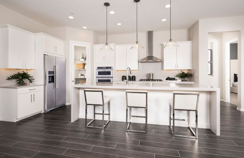 Kitchen featured in the Parklane By Pulte Homes in Phoenix-Mesa, AZ