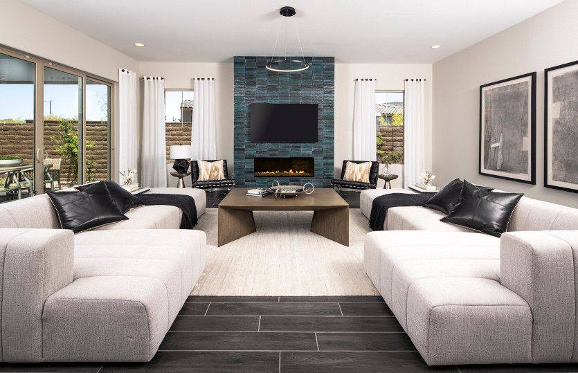 Living Area featured in the Parklane By Pulte Homes in Phoenix-Mesa, AZ