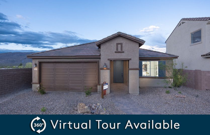 Exterior featured in the Barletta By Pulte Homes in Tucson, AZ