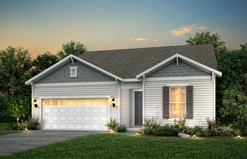 Exterior featured in the Palmary By Pulte Homes in Cleveland, OH