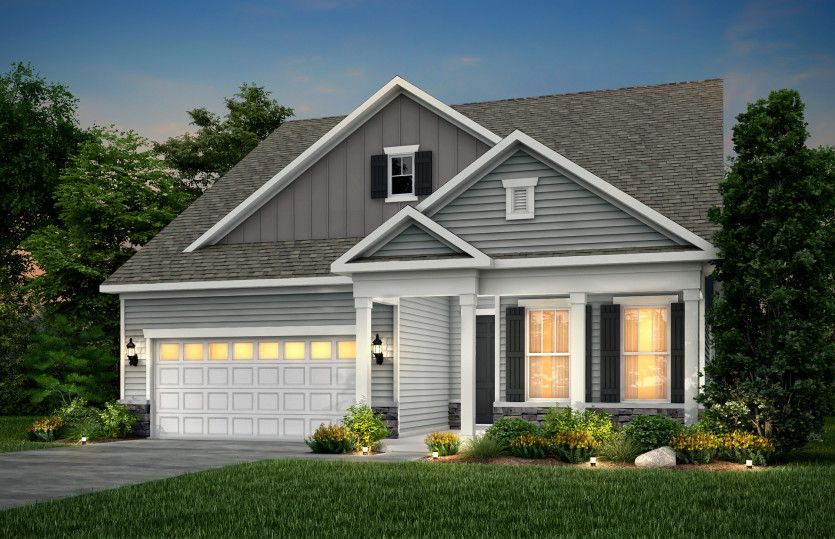 Exterior featured in the Prosperity By Pulte Homes in Cleveland, OH