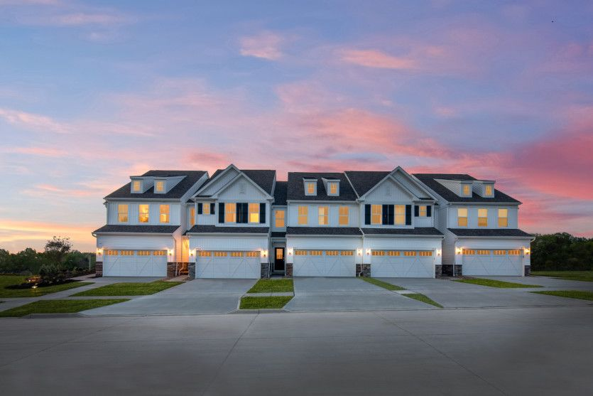 Exterior featured in the Ashton By Pulte Homes in Akron, OH