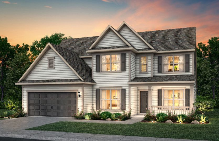 Exterior featured in the Vanderbilt By Pulte Homes in Wilmington, NC