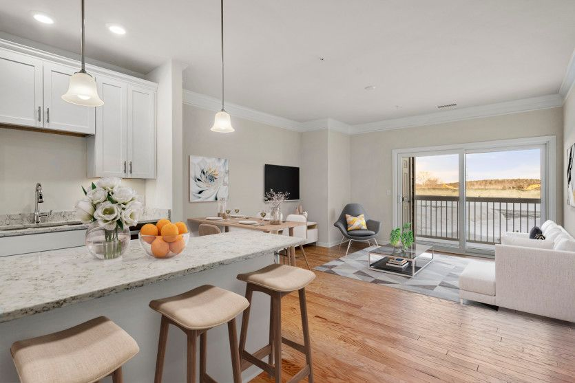Kitchen featured in the Kingston By Pulte Homes in Boston, MA