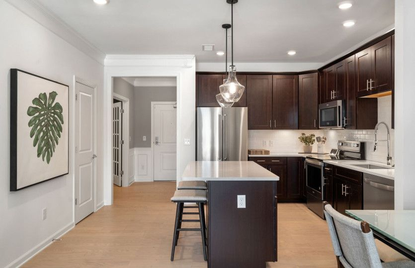 Kitchen featured in the Jensen By Pulte Homes in Boston, MA