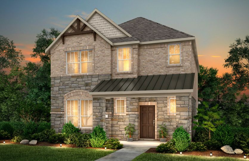 Exterior featured in the Shadygrove By Pulte Homes in Dallas, TX