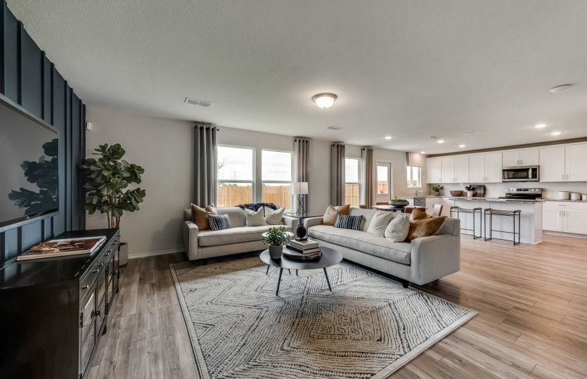 Living Area featured in the Mesilla By Pulte Homes in Dallas, TX