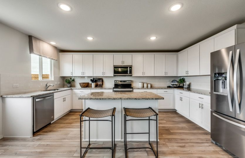 Kitchen featured in the Mesilla By Pulte Homes in Dallas, TX
