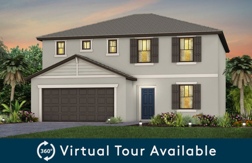 Exterior featured in the Thompson By Pulte Homes in Broward County-Ft. Lauderdale, FL