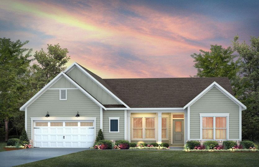 Exterior featured in the Sonoma Cove By Pulte Homes in Raleigh-Durham-Chapel Hill, NC