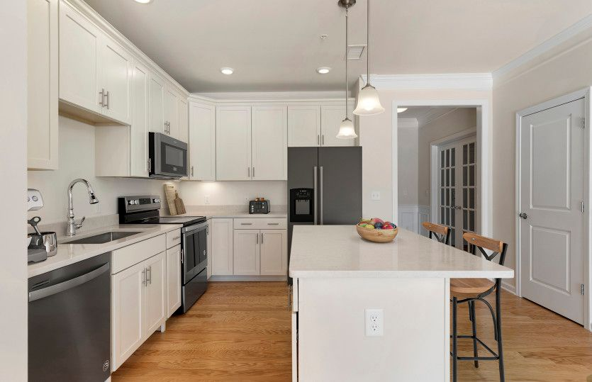 Kitchen featured in the Claremont By Pulte Homes in Boston, MA