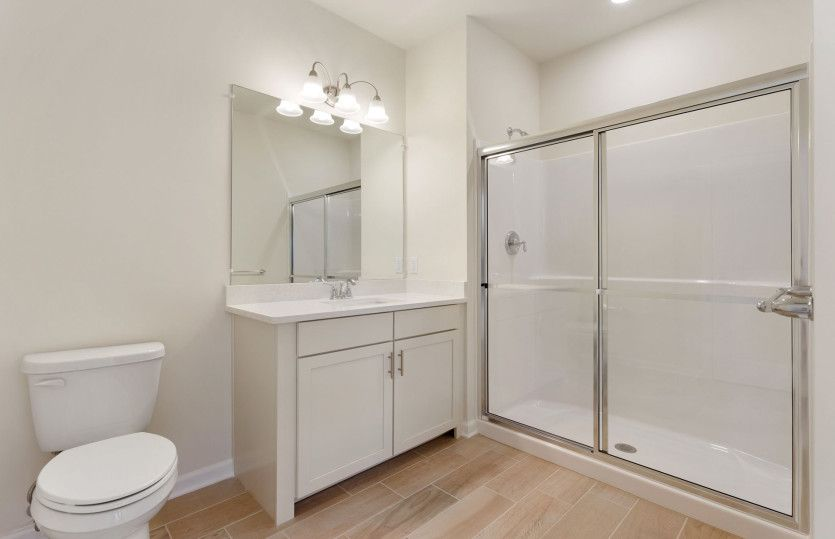 Bathroom featured in the Claremont By Pulte Homes in Boston, MA