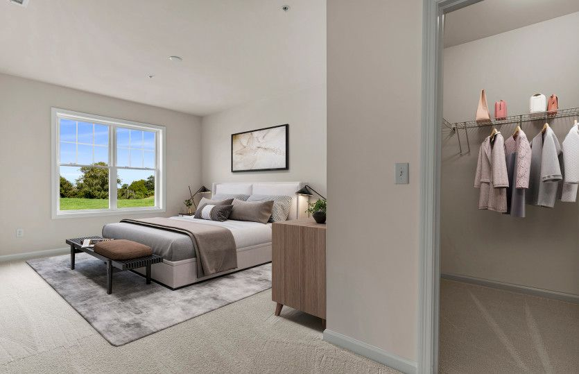 Bedroom featured in the Franklin By Pulte Homes in Boston, MA