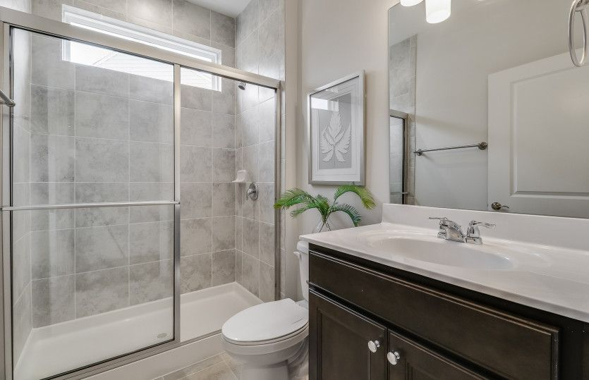 Bathroom featured in the Napa Valley By Pulte Homes in Raleigh-Durham-Chapel Hill, NC