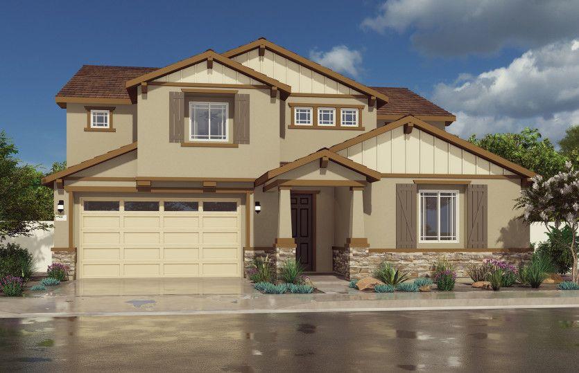 Exterior featured in the Rosemount By Pulte Homes in Riverside-San Bernardino, CA