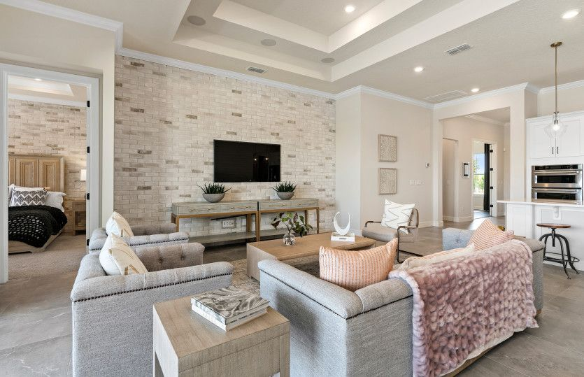 Living Area featured in the Ashby By Pulte Homes in Orlando, FL