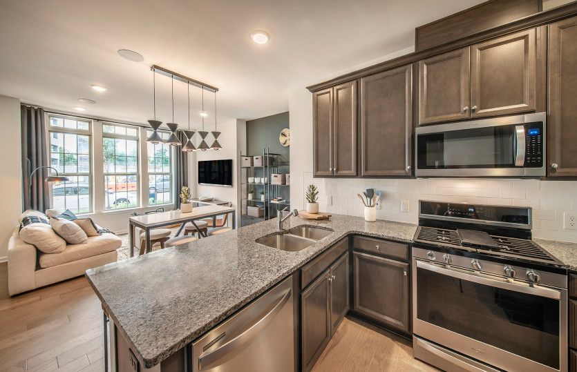 Kitchen featured in the Bowery By Pulte Homes in Somerset County, NJ