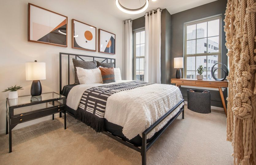 Bedroom featured in the Bowery By Pulte Homes in Somerset County, NJ