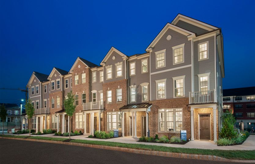 Exterior featured in the Union By Pulte Homes in Somerset County, NJ