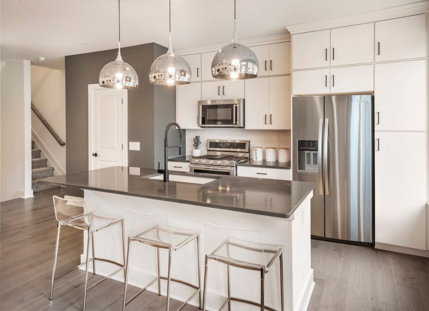 Kitchen featured in the Union By Pulte Homes in Somerset County, NJ